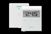 Siemens RDD100.1RFS rádiófrekvenciás szobatermosztát szett