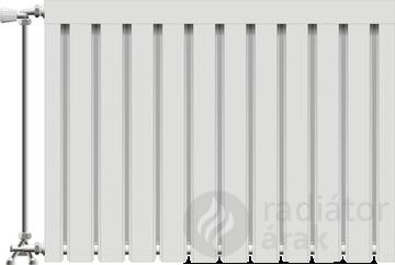 Viking aluminium radiátor 300 mm kötéstáv 20 tag