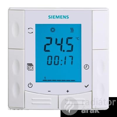 Siemens RDE410 szobatermosztát