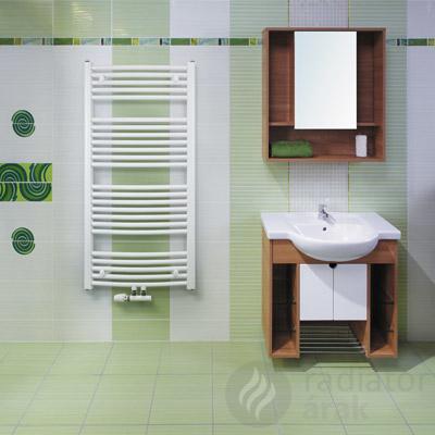 Koralux Rondo Classic M íves 600×1500 törölközőszárító radiátor