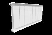 Romantik Classic fehér szinterezett aluminium radiátor 600mm kötéstáv1 tagos