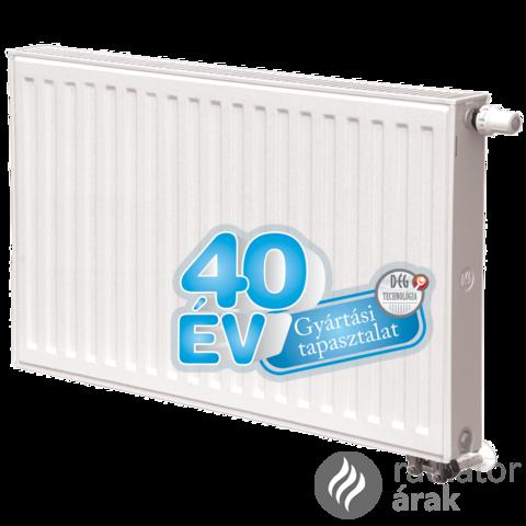 Dunaferr LUX UNI 11K 600x500 radiátor jobbos
